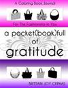 A Pocket(book) Full of Gratitude: A Coloring Book Journal for the Fashionista in You