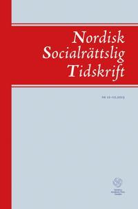 Nordisk socialrättslig tidskrift 11-12(2015)