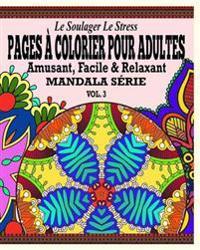 Le Soulager Le Stress Pages a Colorear Pour Adultes
