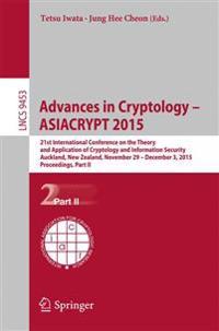 Advances in Cryptology - ASIACRYPT 2015