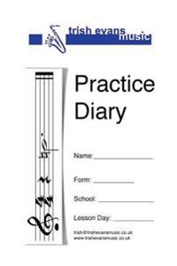 Practice Diary: For School Instrumental Lessons