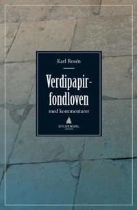 Verdipapirfondloven - Karl Rosén | Inprintwriters.org