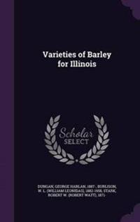 Varieties of Barley for Illinois
