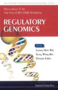 REGULATORY GENOMICS - PROCEEDINGS OF THE 3RD ANNUAL RECOMB WORKSHOP