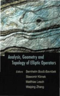 ANALYSIS, GEOMETRY AND TOPOLOGY OF ELLIPTIC OPERATORS