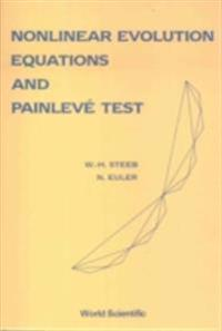 Nonlinear Evolution Equations And Painleve Test