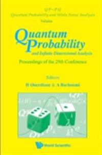 QUANTUM PROBABILITY AND INFINITE DIMENSIONAL ANALYSIS - PROCEEDINGS OF THE 29TH CONFERENCE
