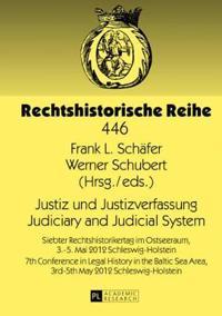 Justiz Und Justizverfassung / Judiciary and Judicial System