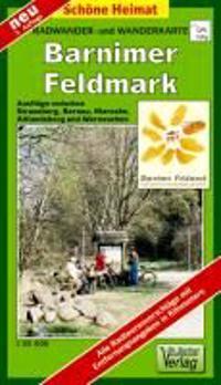 Barnimer Feldmark 1 : 35 000. Radwander- und Wanderkarte
