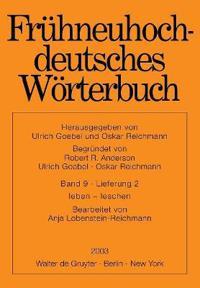 Frühneuhochdeutsches Wörterbuch, Band 9/Lieferung 2, Leben - leschen