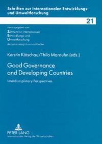 Good Governance and Developing Countries