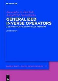 Generalized Inverse Operators