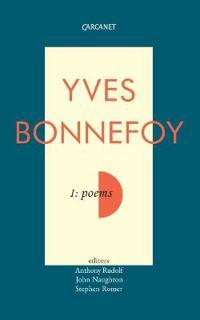 Poems of Yves Bonnefoy