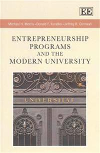 Entrepreneurship Programs and the Modern University