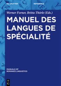 Manuel Des Langues de Sp cialit