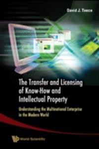 TRANSFER AND LICENSING OF KNOW-HOW AND INTELLECTUAL PROPERTY, THE