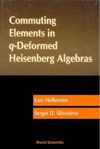 Commuting Elements In Q-deformed Heisenberg Algebras