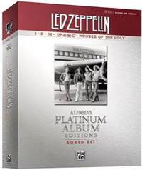 Led Zeppelin Authentic Guitar Tab Edition Boxed Set: Alfred's Platinum Album Editions
