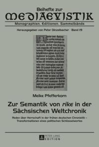 Zur Semantik von rike in der Saechsischen Weltchronik