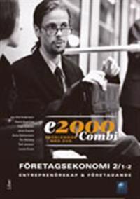 E2000 Combi Fek 1-2/Entreprenörskap & företagande Problembok med DVD