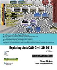 Exploring AutoCAD Civil 3D 2016, 6th Edition