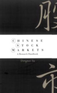 Chinese Stock Markets: A Research Handbook