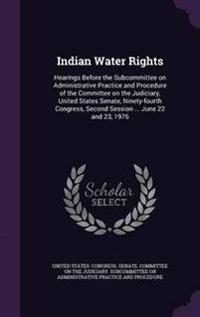 Indian Water Rights