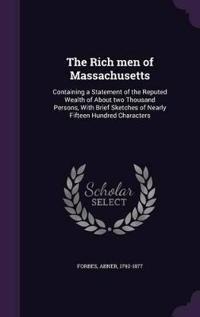 The Rich Men of Massachusetts