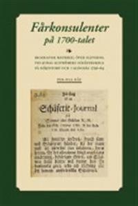 Fårkonsulenter på 1700-talet : biografisk matrikel över eleverna vid Jonas alströmers schäferskola på Höjentorp och i Alingsås 1736-64