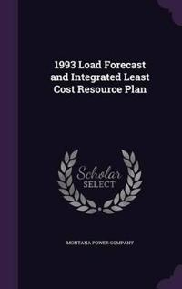 1993 Load Forecast and Integrated Least Cost Resource Plan