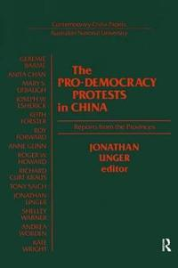 The Pro-Democracy Protests in China
