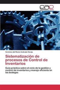 Sistematizacion de Procesos de Control de Inventarios