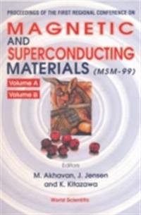 MAGNETIC AND SUPERCONDUCTING MATERIALS (IN 2 VOLS)