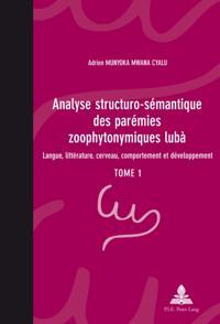 Analyse structuro-semantique des paremies zoophytonymiques luba