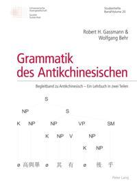 Grammatik des Antikchinesischen