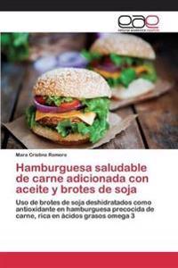 Hamburguesa Saludable de Carne Adicionada Con Aceite y Brotes de Soja