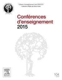Conferences d'enseignement 2015