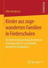 Kinder Aus Zugewanderten Familien in Förderschulen