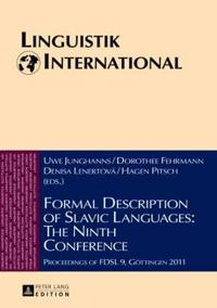 Formal Description of Slavic Languages the Ninth Conference