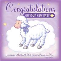 Congratulations on Your New Baby Greeting Card/CD: Sweet Instrumental Lullabies and Bible Songs