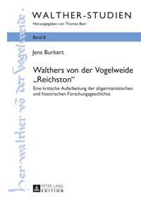 Walthers von der Vogelweide Reichston