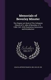 Memorials of Beverley Minster