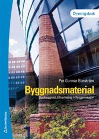 Byggnadsmaterial - Övningsbok