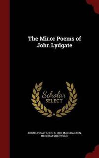 The Minor Poems of John Lydgate