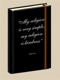 Anteckningsbok citat Dalai Lama#2