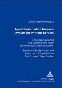 Investitionen Ohne Grenzen/investment Without Borders