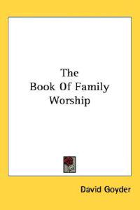 The Book of Family Worship