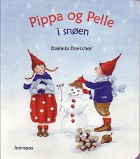 Pippa og Pelle i snøen
