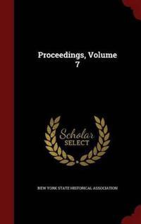 Proceedings; Volume 7