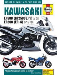 Kawasaki Ex500 (Gpz500S) & Er500 (Er-5) Service An